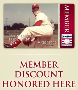 hall of fame membership card